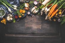 Organic Harvest Vegetables Fro...