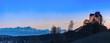 Leinwanddruck Bild - Waldburg, Oberschwaben