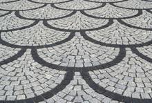 Schuppenpflaster Textur