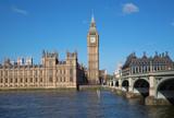 Fototapeta Big Ben - London. Big Ben clock tower.