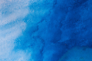 FototapetaBlue watercolor background for backgrounds or textures