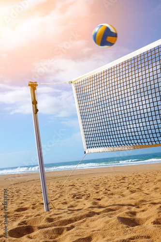 Beach Volley Canvas Print