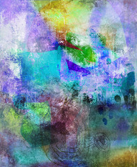 Obraz malerei graphik texturen dekorativ