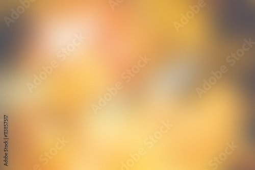 Blurred background,abstract Softness warm tone bokeh light