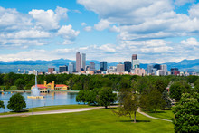 Denver Colorado Downtown With ...