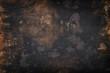 Leinwandbild Motiv grunge dirty metal background or texture