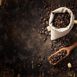 Fototapeta Kawa jest smaczna - Coffe composition