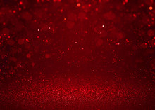 Red Sparkle Glitter Abstract B...