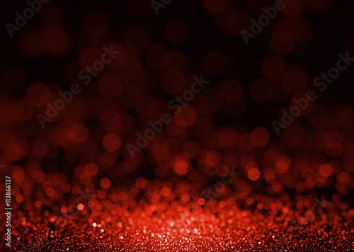 Pinturas sobre lienzo  Red glitter texture christmas fashion background