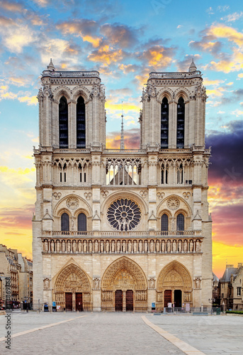 Canvas Print Cathedral of Notre-Dame