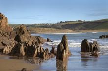 Coastline At Bigbury On Sea, D...