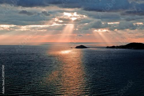 Fotografie, Obraz  Tramonto sul mare