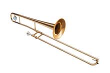 Golden Brass Tenor Trombone Is...