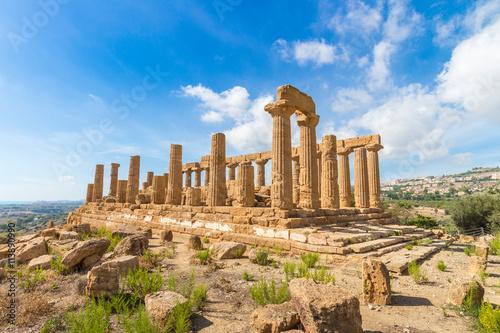 Photo Tal der Tempel Agrigent Sizilien