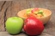 salad apple