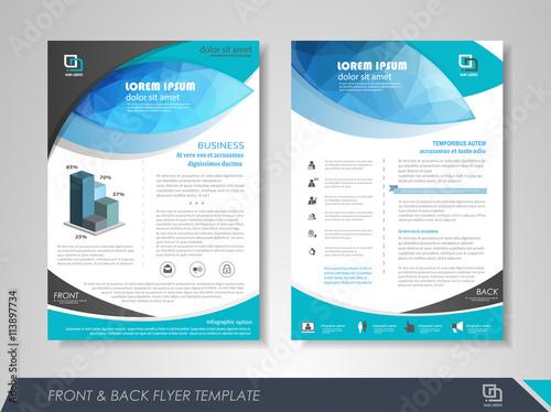 Fotografie, Obraz  Brochure template design