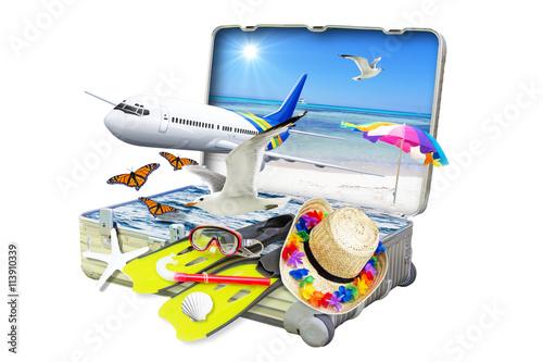 In den Urlaub fahren
