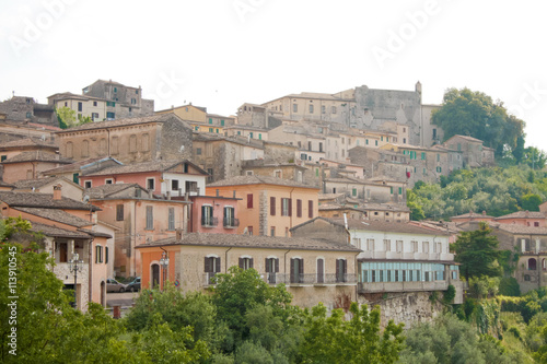 Photo Arpino's low town (Italy)