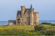 Leinwandbild Motiv Château Turpault en Bretagne