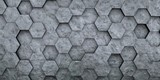 Digital hexagons background - 113915715