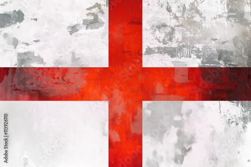 Fotografie, Obraz  England ( english ) flag