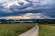 Turbolenter Sturm zieht über den schönen Bodensee