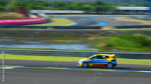 obraz lub plakat racecar