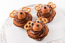 Christmas Deer Cupcakes