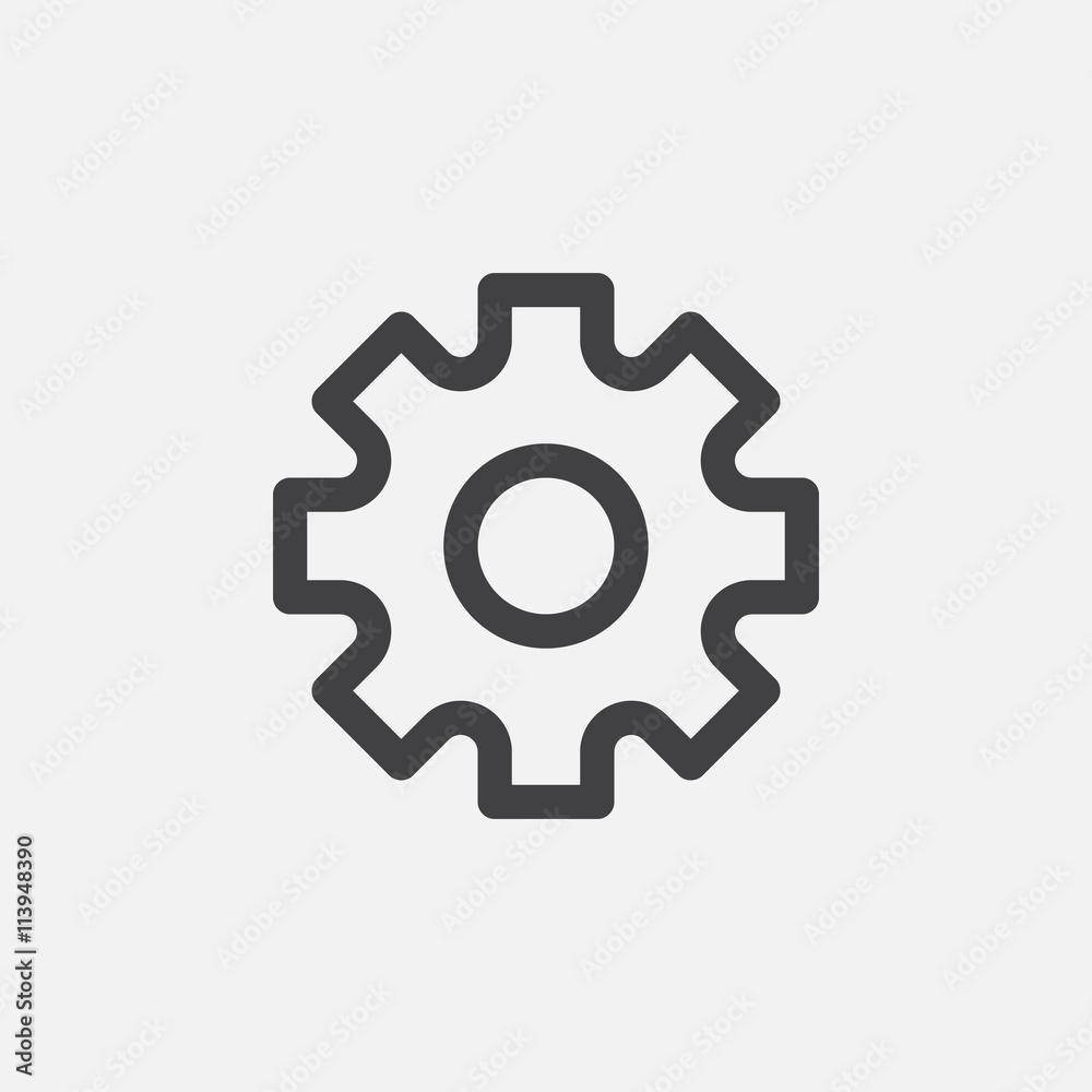 Fototapety, obrazy: settings icon