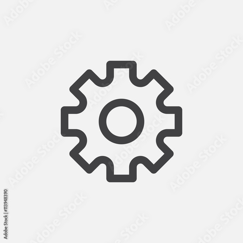 settings icon Canvas