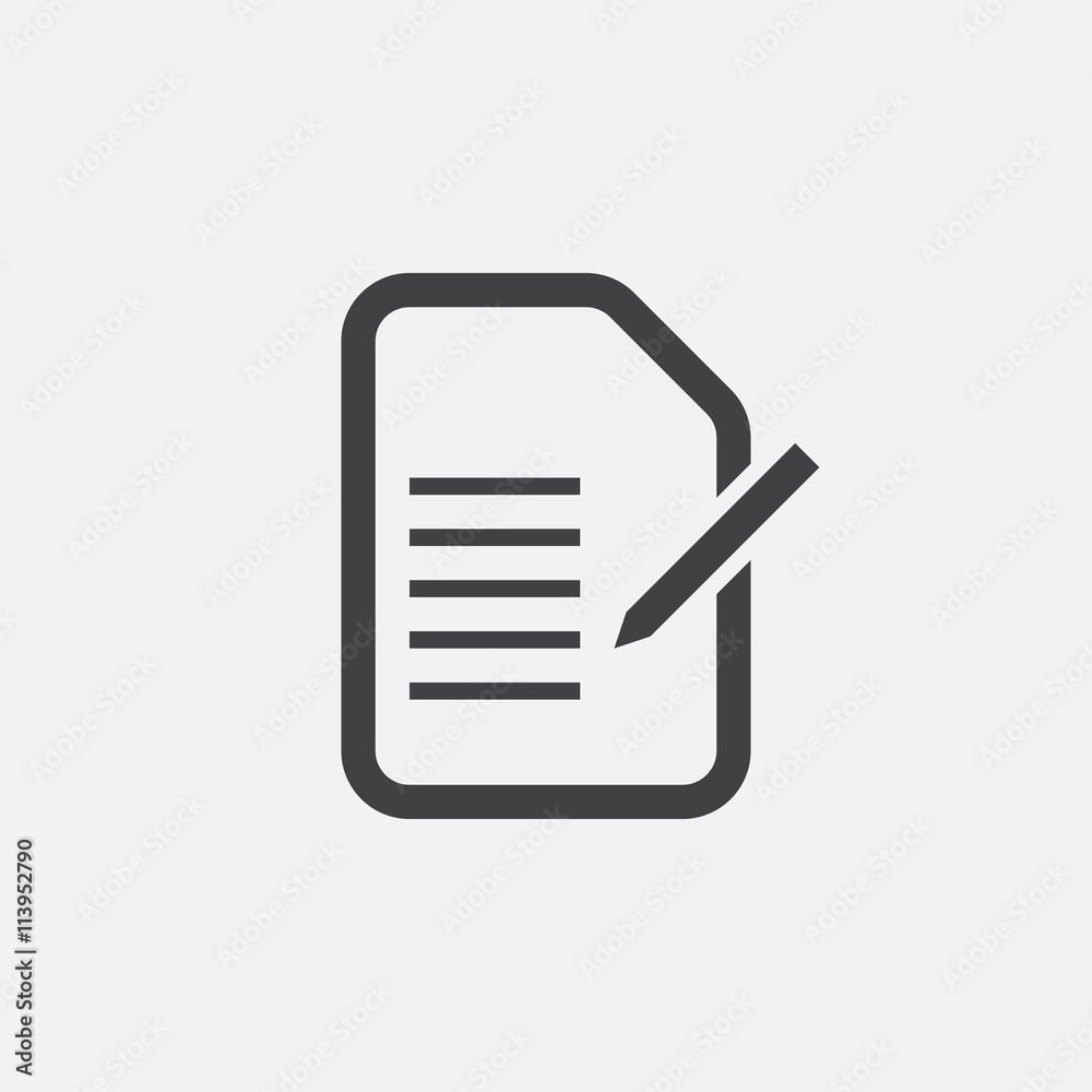 Fototapeta form icon