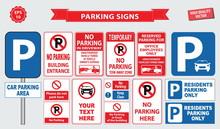 Car Parking Sign (no Parking B...
