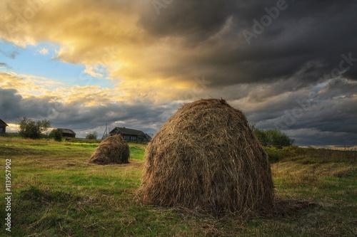 Fotografie, Tablou haystack