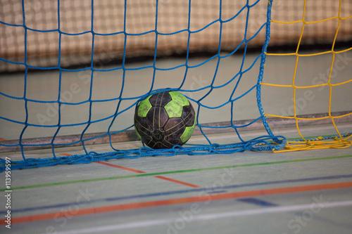 Plakat Piłka ręczna w bramce