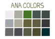 ANA. Army Navy Air Force Marines Color Tone without Name Vector Illustration No.2