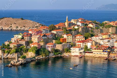 Poster Turquie Amasra resort town, Black Sea Coast, Turkey
