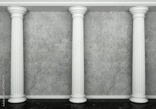 Photo Classic interior with column
