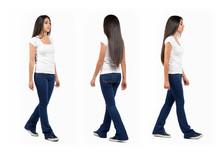 Young Girl Walking