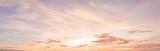 Fototapeta Na sufit - panorama sunset sky