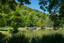 Town Park, Trencianske Teplice...