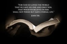 Vintage Bible Verse Background...