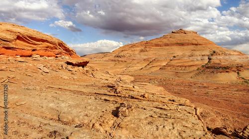 Wild Utah desert landscape, USA