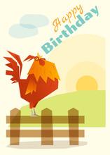 Birthday And Invitation Card A...