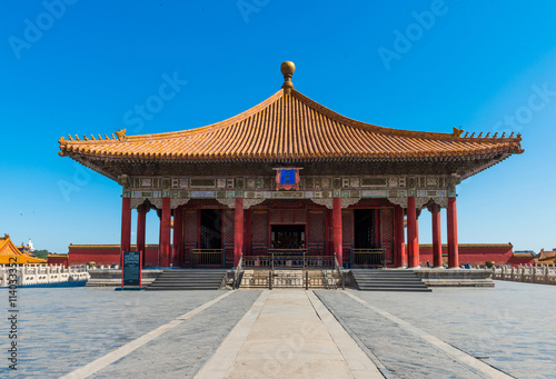 obraz dibond forbidden city in beijing,China