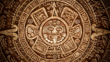 Pagan Ornament Of A Tribe Maya Texture