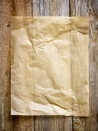 Valokuva  baking paper sheet