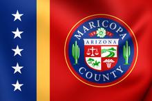 Flag Of Maricopa County, USA.