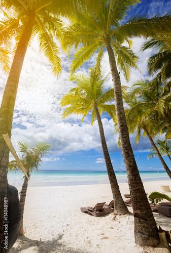 Staande foto Strand Peaceful beach resort