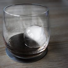 Whisky Glas Mit Eiswürfel