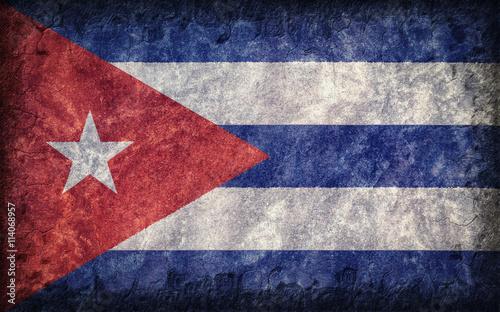 Flag of Cuba Wallpaper Mural